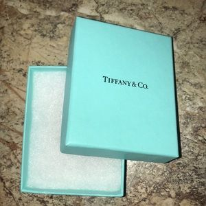 Authentic Tiffany&co box